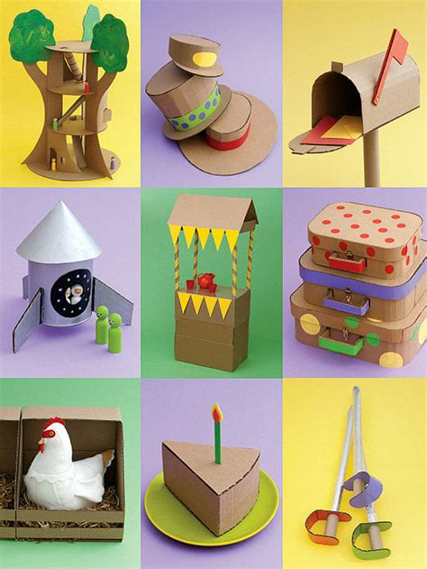 cardboard craft projects for cardboard crafts