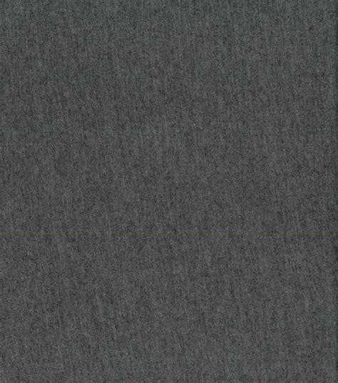 Sew Classics Cotton Heathered Knit Charcoal Fabric At