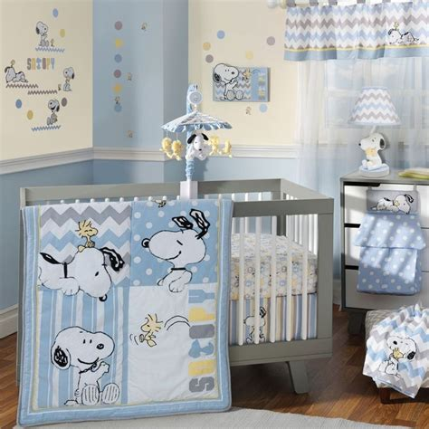 lambs and sports crib bedding 17 best ideas about snoopy nursery on baby