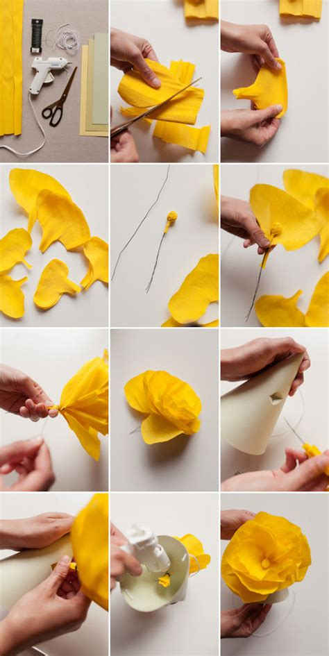 how to do paper craft paper flower hats diy