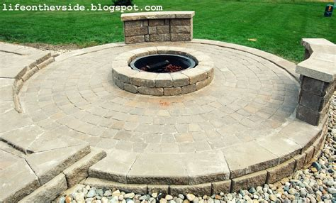 pit on patio pavers diy patio pit with pavers 2017 2018 best cars reviews