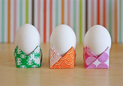 easy origami easter egg easy origami egg holders how about orange