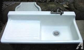 cast iron kitchen sink with drainboard original cast iron farmhouse kitchen sink with drainboard