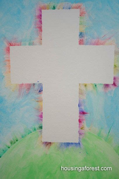christian easter crafts for 30 christian easter crafts cross water colors and
