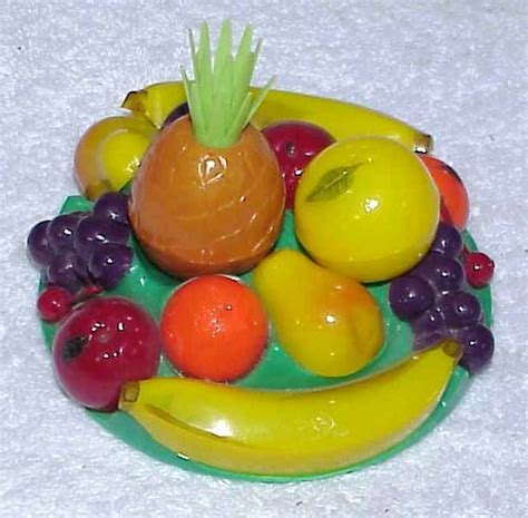 fruit plastic vintage salt pepper set plastic fruit tray fruit