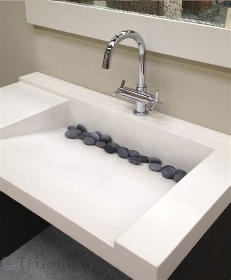 modern bathroom sink concrete ada custom sink contemporary bathroom sinks