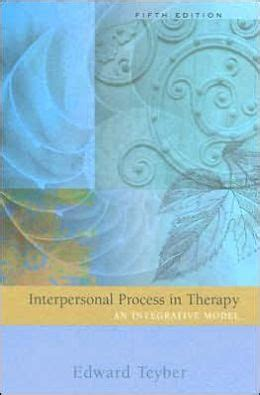interpersonal process in therapy an integrative model interpersonal process in therapy an integrative model