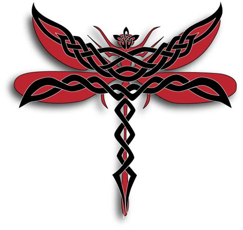 celtic dragonfly by silverturtle23 on deviantart