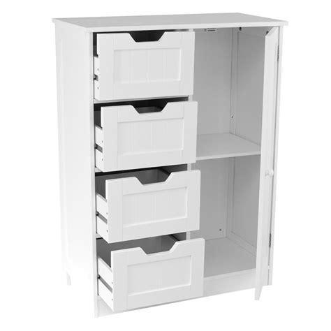 White Bathroom Cabinets Uk by Freestanding Bathroom Cabinet White Vanity Storage Mirror