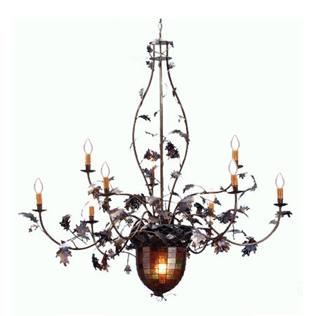 oak leaf chandelier oak leaf chandelier oak leaf chandelier charles saunders