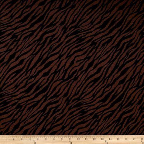 jacquard knit fabric knit jacquard brown black zebra print discount