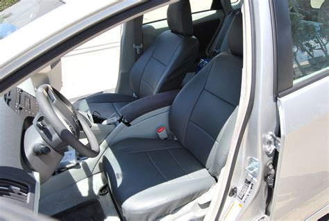 prius leather seat covers toyota prius 2007 2012 iggee s leather custom fit seat cover 13colors available ebay