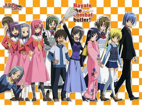 the combat butler hayate no gotoku escola de animes