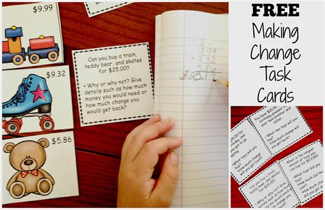 task cards here are free change task cards for a