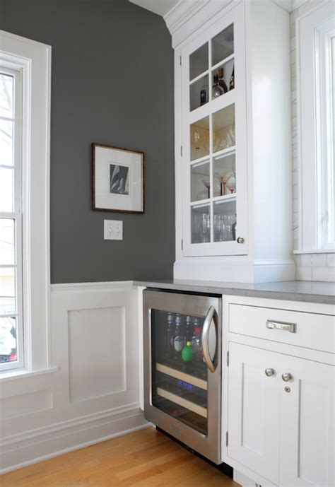 benjamin paint colors for kitchen cabinets charcoal gray paint color contemporary kitchen