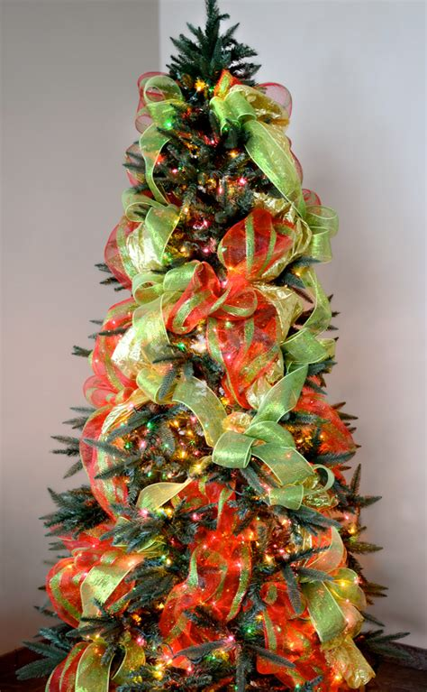 decorating tree with deco mesh ideas by mardi gras outlet tree