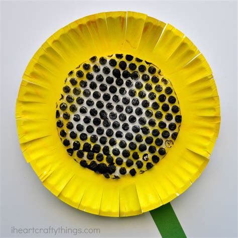 crafts made from paper plates paper plate sunflower craft i crafty things