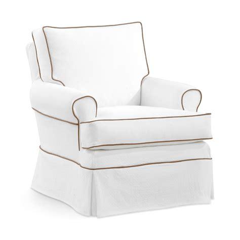 swivel glide chair slipcovered swivel glider chair rosenberryrooms