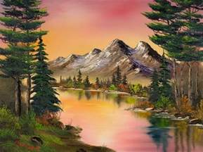 bob ross best painting best 25 paintings ideas on