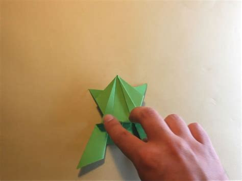 origami frogs that jump how to make an origami jumping frog with pictures wikihow