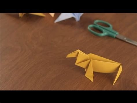 origami walrus how to make an origami walrus simple origami