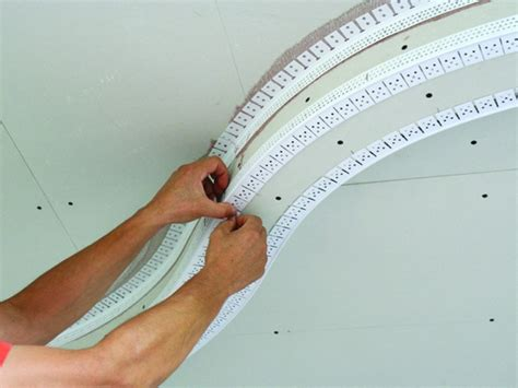 how to install corner bead 90 186 inside corner bead archway trim tex drywall products