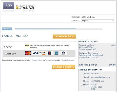 how to make payment through credit card how to make payment with paypal or credit card using