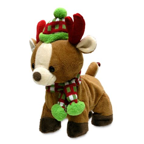 animated singing reindeer rock and roll rider reindeer animated singing soft plush