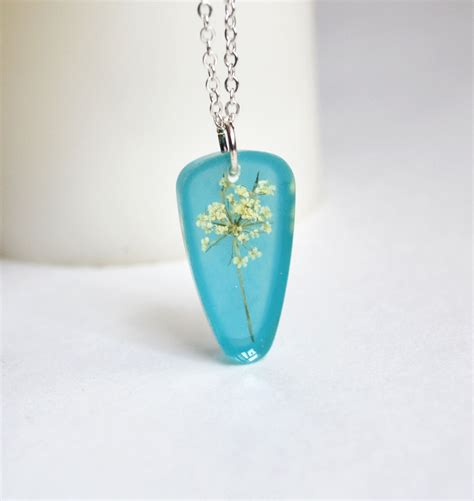 resin jewelry s flower necklace resin jewelry