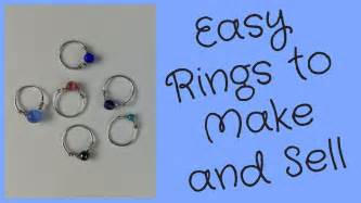 make and sell jewelry wire rings to make and sell diy jewelry tutorial