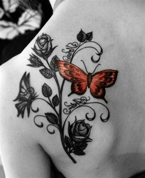 25 interessante ideen f 252 r schmetterling tattoo