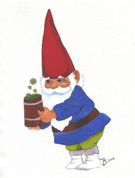 gnome rubber st gnome fabric