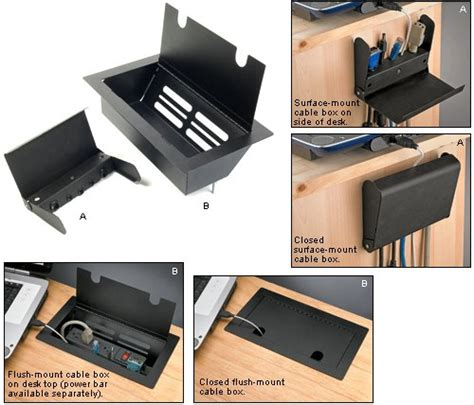 hide computer wires desk hide the cables that clutter your desk toolmonger for the home cable diy desk