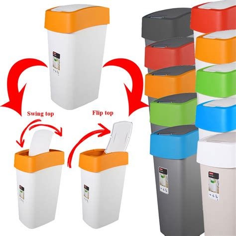 Der Müll Im Garten by Papierkorb In Vielen Farben 50 L Schwingdeckel Abfalleimer