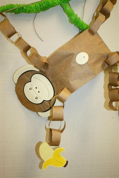 paper bag monkey craft 1000 ideas about rainforest theme on