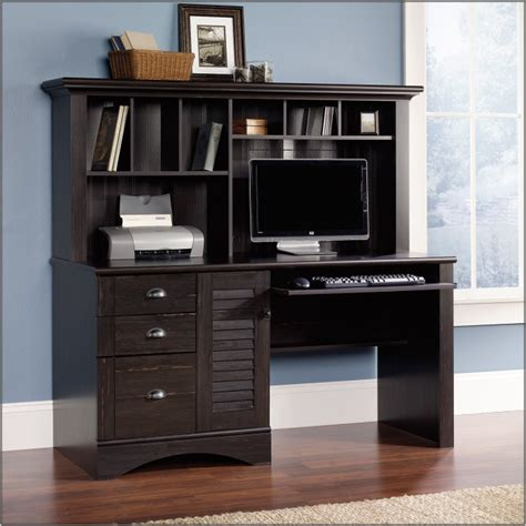 sauder harbor view computer desk with hutch sauder harbor view computer desk with hutch sauder