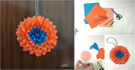 crafts to make out of paper how to make a stunning flowery wreath out of nothing more