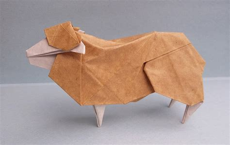 sheep origami this week in origami july 31 2015 edition