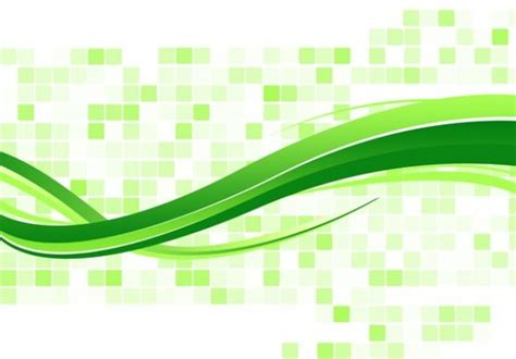 green mosaic wave abstract background psd freebie