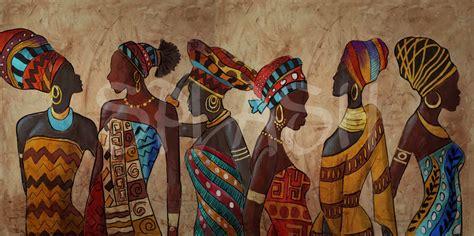 cuadros etnicos mujeres africanas cuadro mujeres 233 tnicas africanas cuadros modernos online