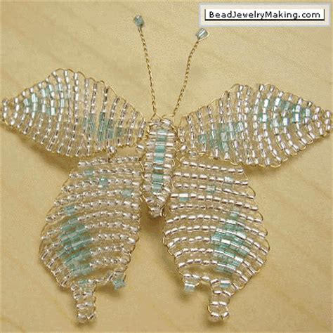 beading gem how to make butterfly jewelry tutorials the beading gem