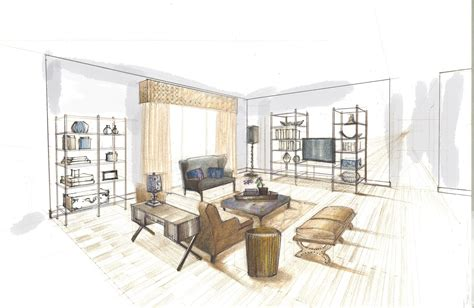 how to interior design home ideas modern home design interior design rendering