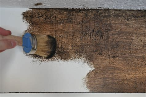 paint colors look like wood diy painted faux wood ceiling beams the copper anchor