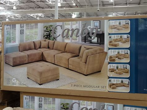 modular sectional sofa costco canby modular sectional sofa set