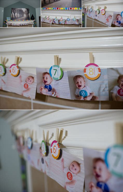 How To Do Birthday Decoration At Home how to display photos kelly garvery click it up a notch
