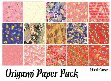 where to find origami paper origami paper pack by maplerose stock on deviantart