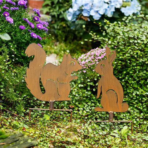 Eichhörnchen Gartendeko by Gartenstecker Eichh 246 Rnchen N 252 Ssli G 228 Rtner P 246 Tschke