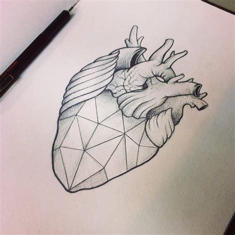 geometric heart by moviemetal3 on deviantart