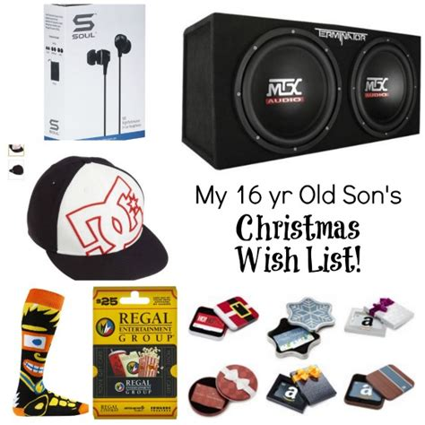 16 year boy gifts this is my 16 year s list