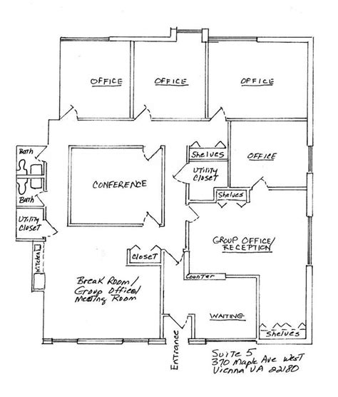 small office floor plan pin by potter on interiors